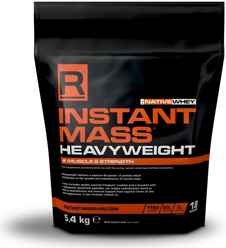 Reflex Nutrition Instant Mass Heavy 5400 g Příchuť: Čokoláda/arašídové máslo