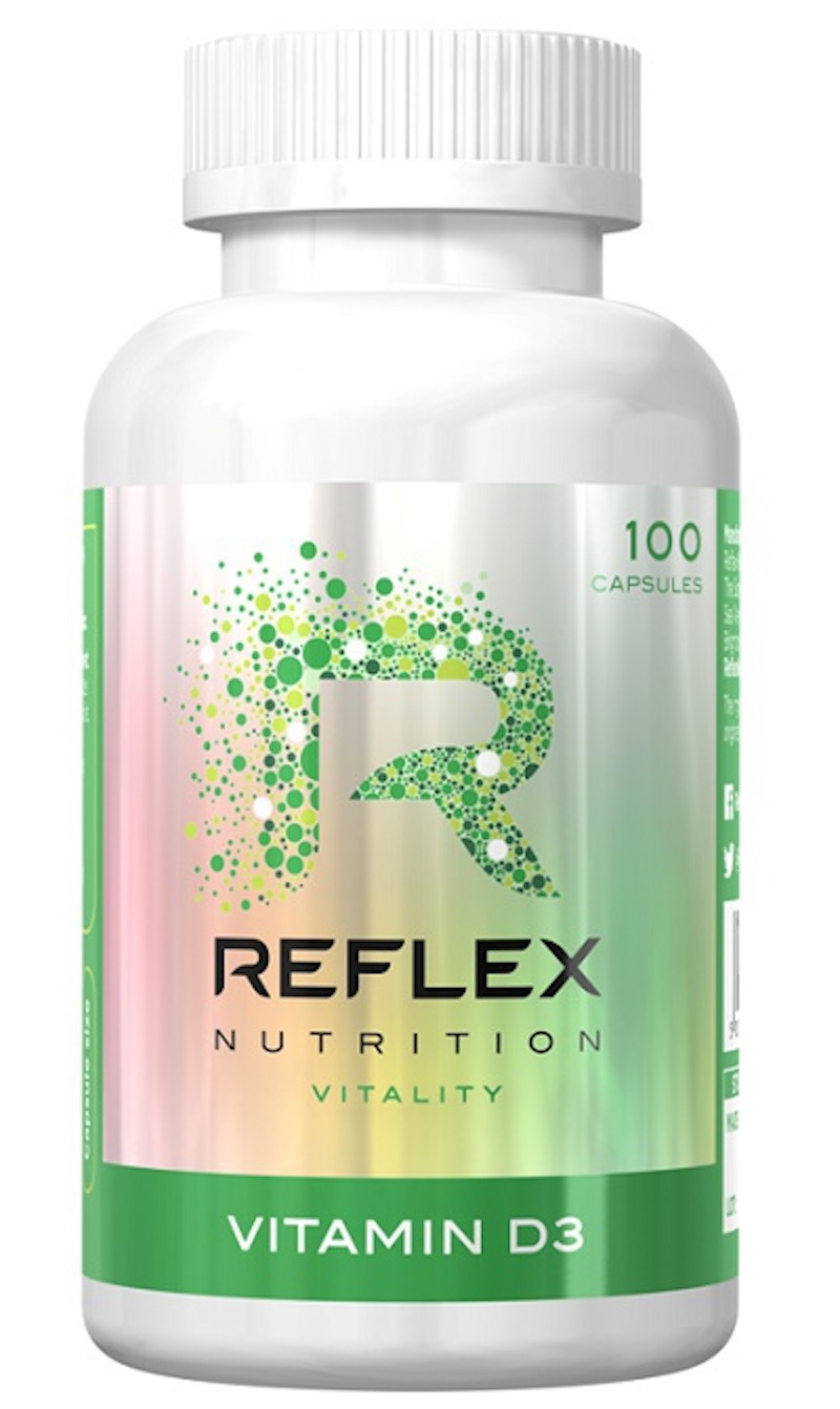 Reflex Nutrition Vitamin D3 Hmotnost: 100 tablet