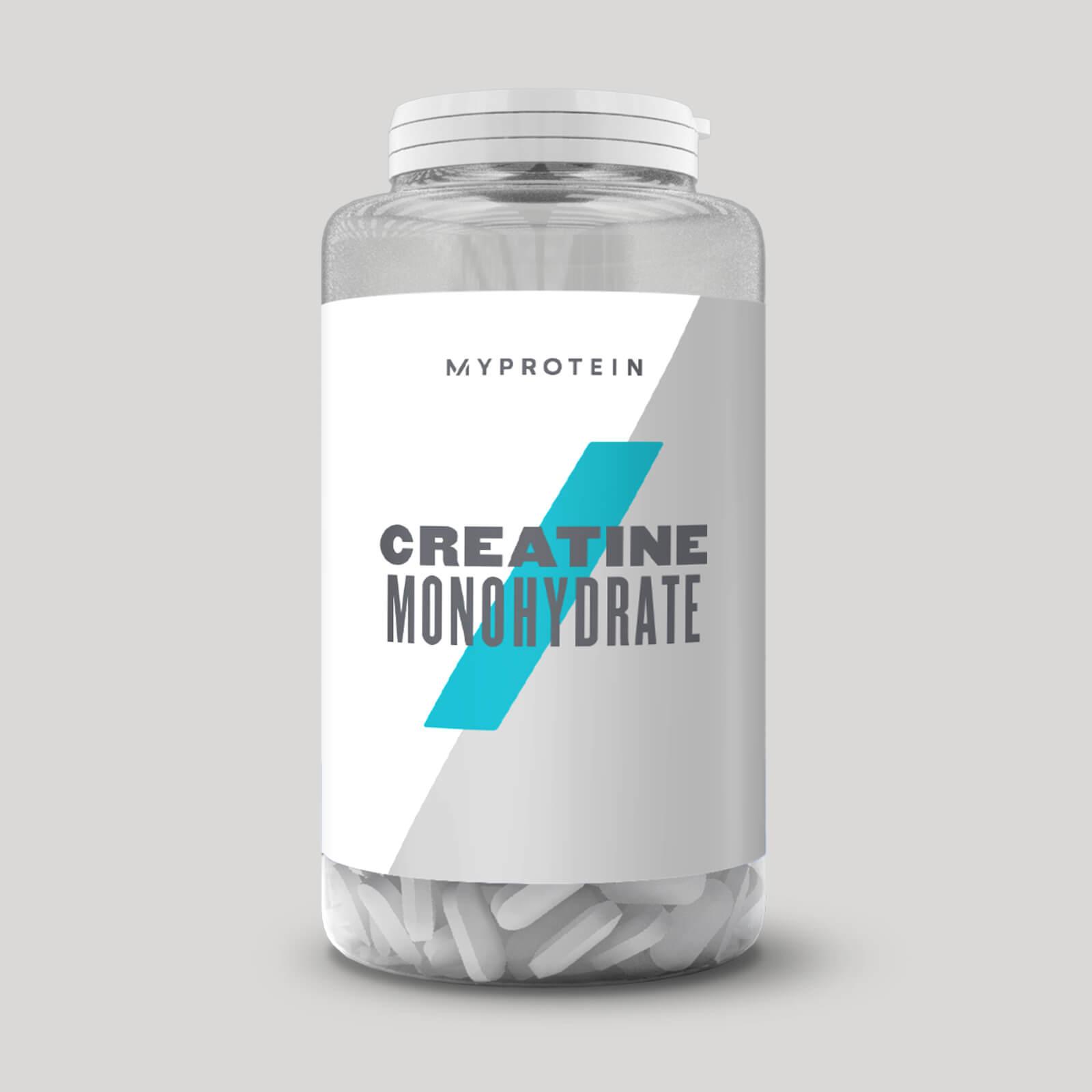 MyProtein Creatine Monohydrate Hmotnost: 250 tablet