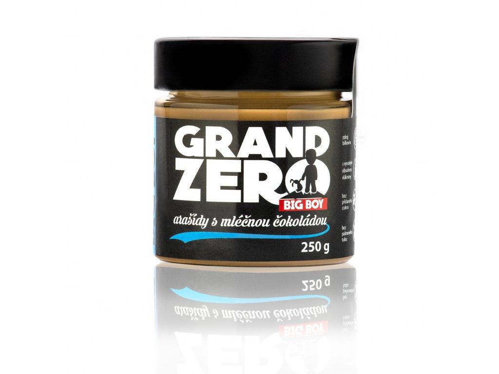 BIG BOY® Grand Zero Příchuť: Mléčná čokoláda, Hmotnost: 550g