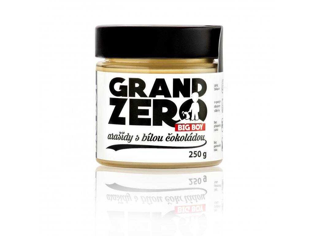 BIG BOY® Grand Zero Příchuť: Bílá čokoláda, Hmotnost: 250g