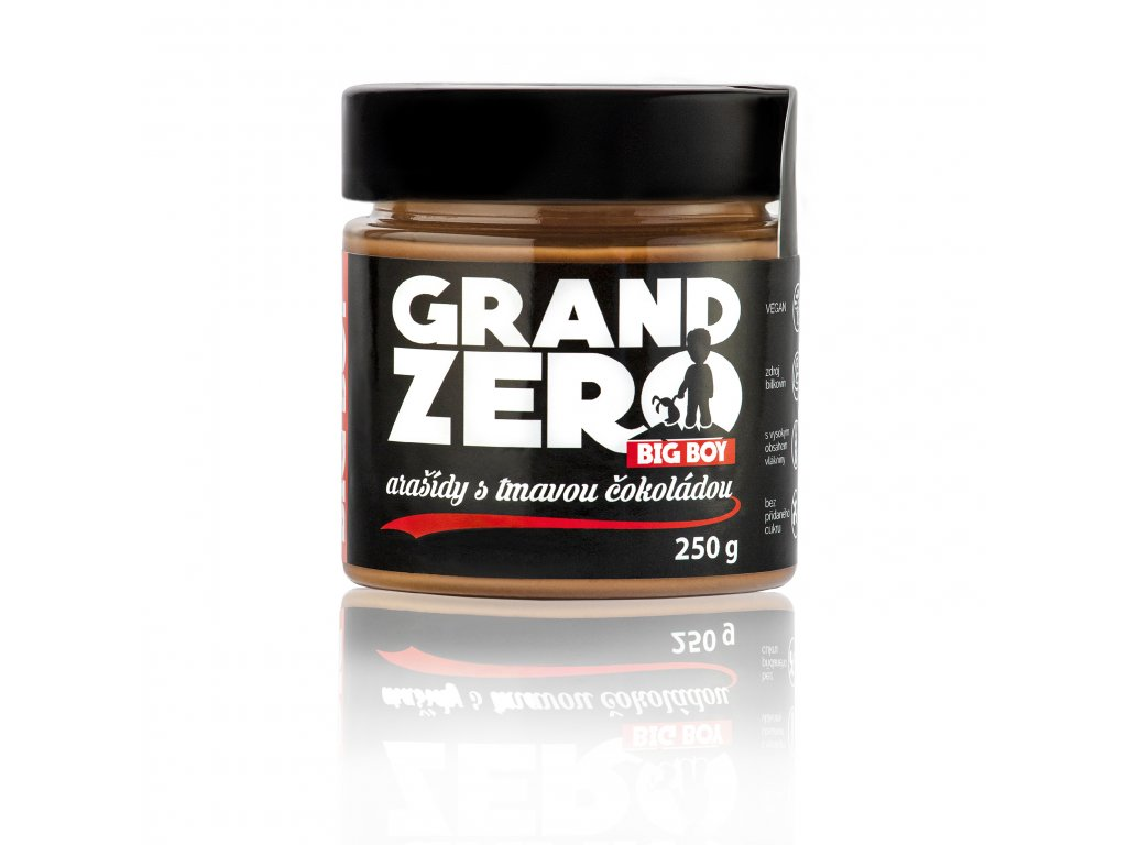 BIG BOY® Grand Zero Příchuť: Čokoláda, Hmotnost: 250g