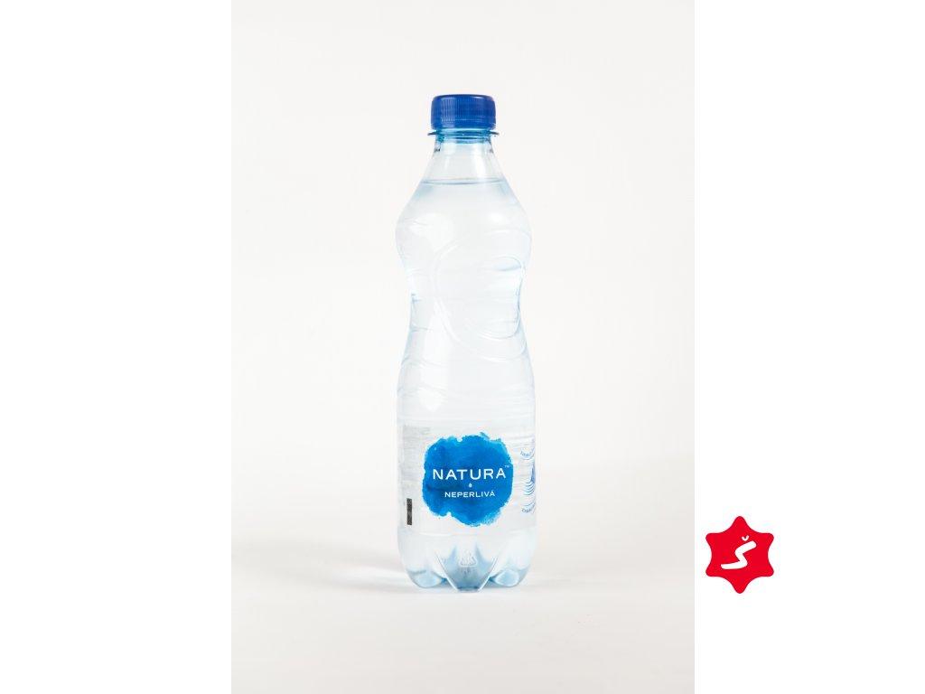 voda neperlivá