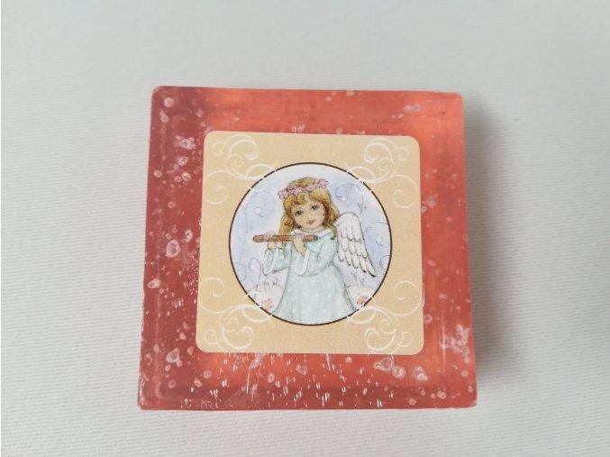 Tuhé mýdlo Anděl s mořskou solí, 75 g