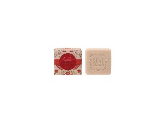 Real Saboria Luxusní mýdlo - Červené bobule 50g,