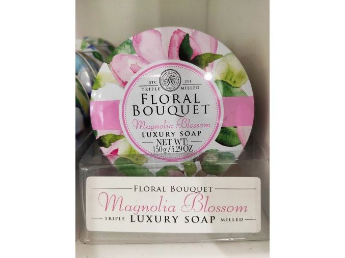 mýdlo s vůní magnolie