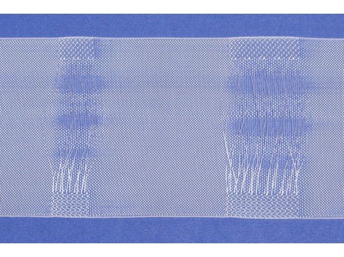 Řasící stuha BANDEX MONSON  poutková, výška 10 cm, variabilní a plně transparentní