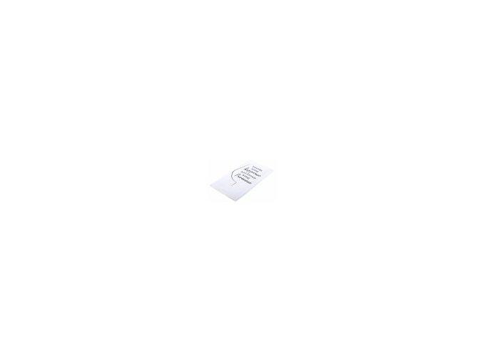 Utěrka PROSECCO motiv A, mikrovlákno 38 cm x 63 cm, černá sklenička