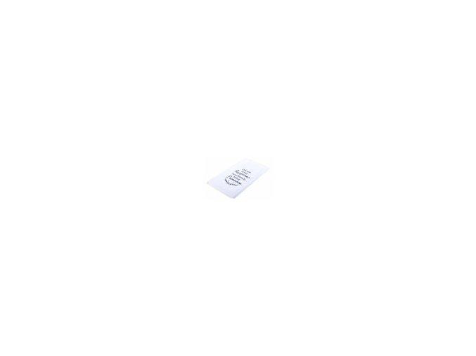 Utěrka PROSECCO motiv C, mikrovlákno 38 cm x 63 cm, větvička šedá