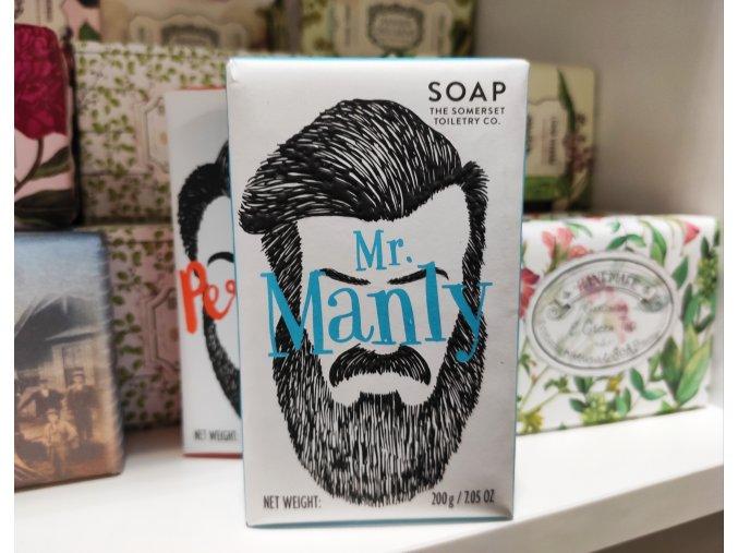 pánské mýdlo s vůní šalvěje