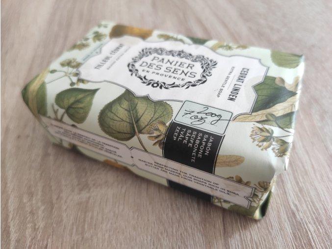 panier des sens mydlo s bambuckym maslem lipovy kvet a citrusy 200g