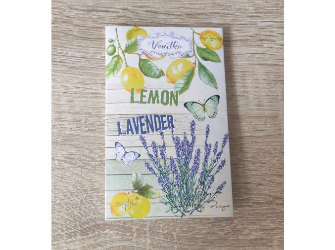 VONÍTKO DO PRÁDLA Lemon lavender