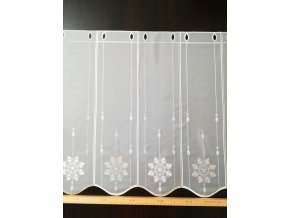 Záclona- ALEGRO/02/v.60 cm, vitráž
