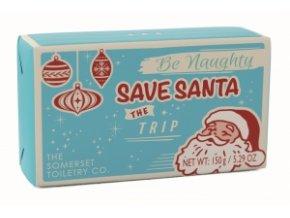 Somerset Toiletry Luxusní Vánoční mýdlo - Santův seznam - Santa