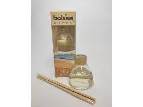 Bolsius Aromatic Difuser 45ml Sany beach, stébla, limitovaná edice