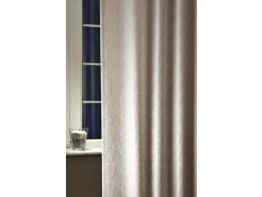 Dekorační látka MONACO 42 stříbrná 280 cm