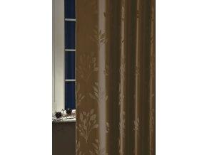Dekorační látka VERA 08 čokoládová 300 cm