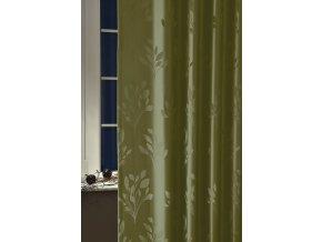 Dekorační látka VERA 15 lovecká zelená 300 cm
