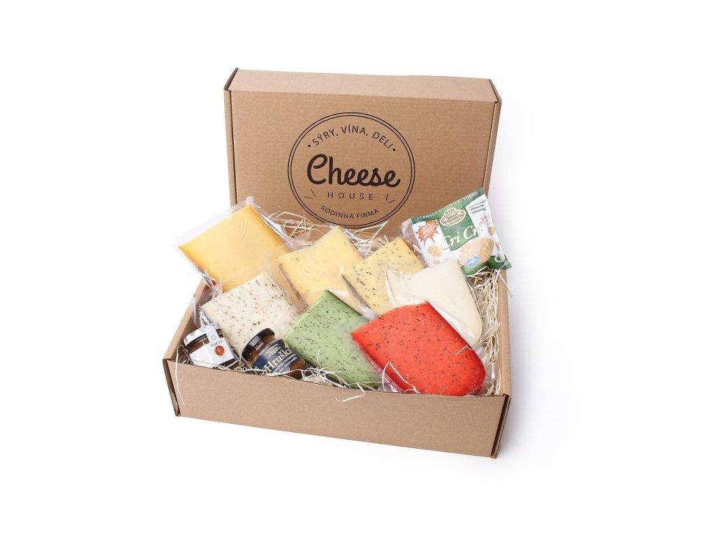 Sýrový box pro víkendové potěšení
