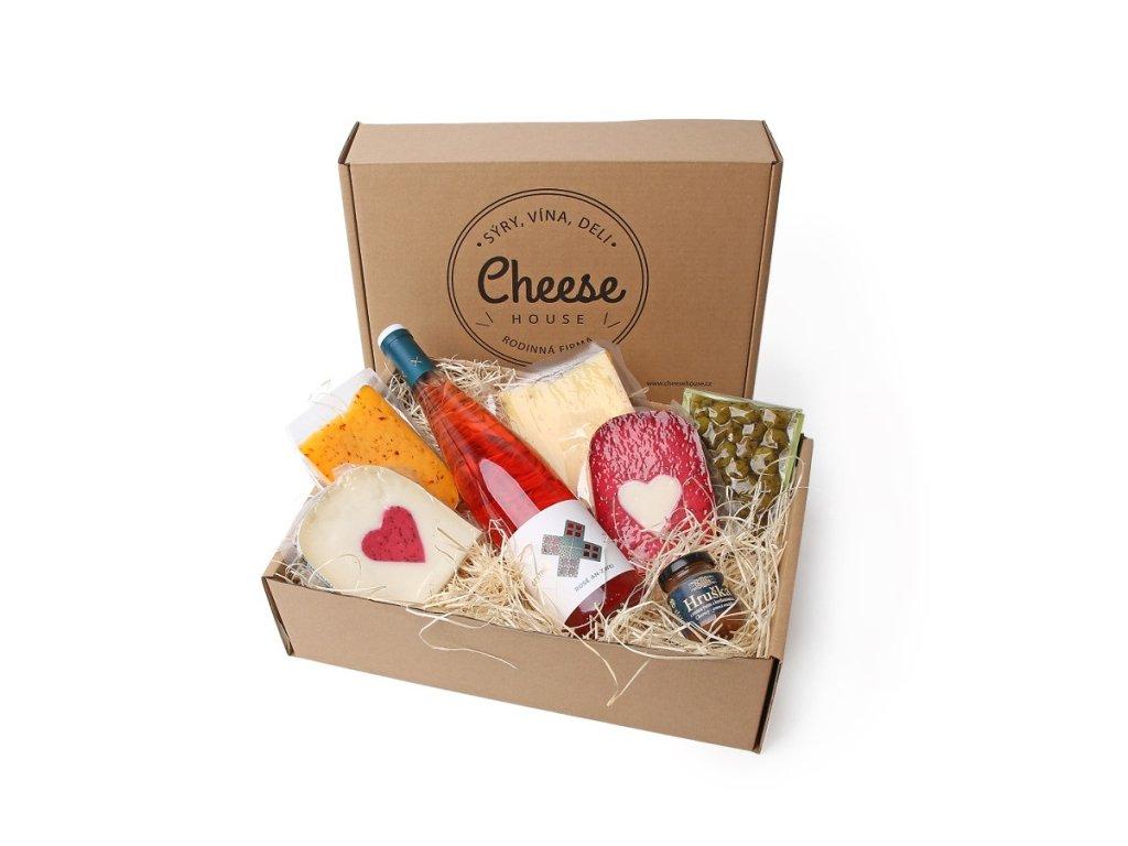 Sýrový box pro všechny zamilované