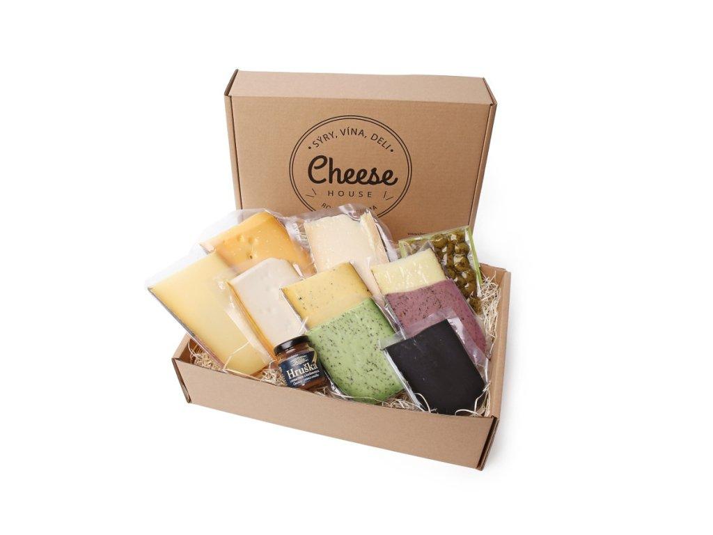 Sýrová degustace