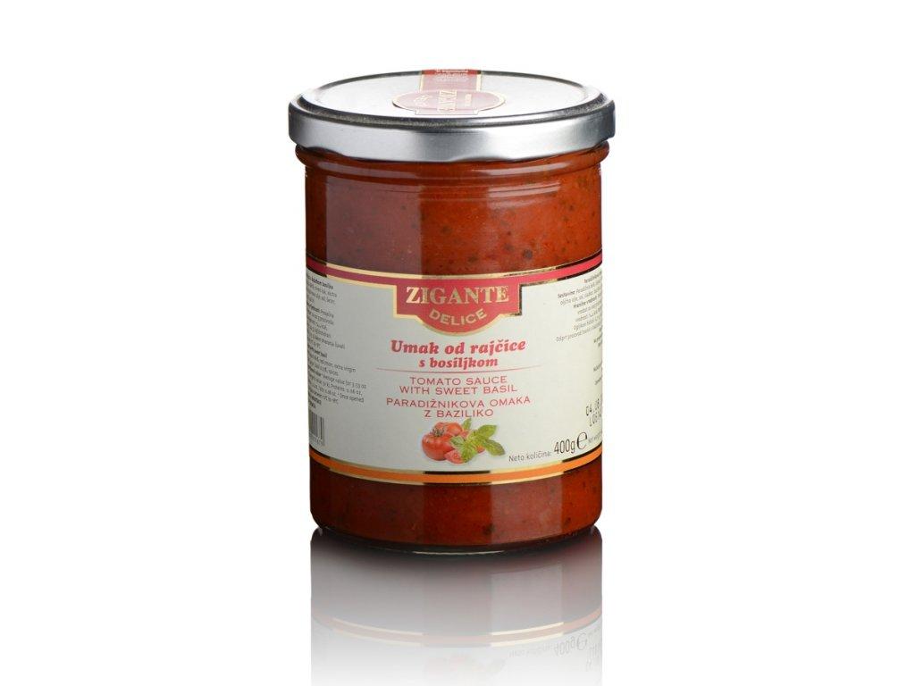 Rajčatová omáčka s bazalkou Zigante