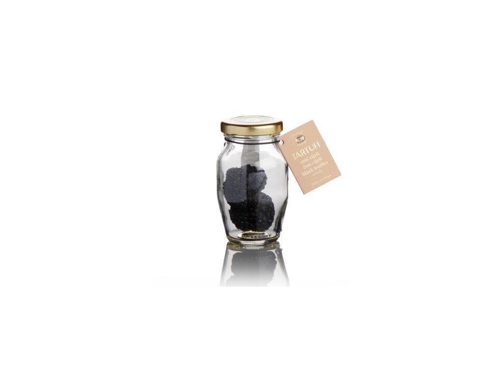 Černý lanýž ve skle velký Zigante