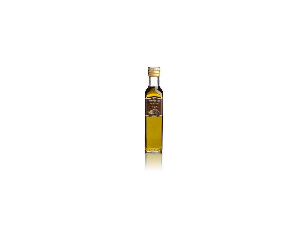 Olivový olej s příchutí černých lanýžů Zigante