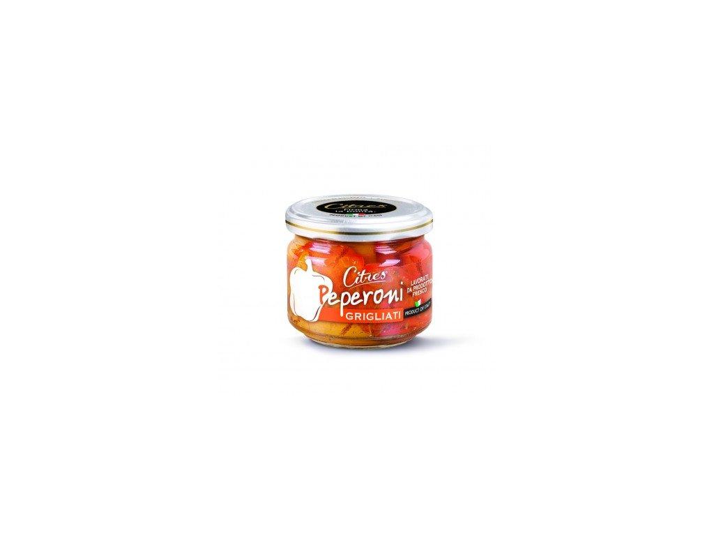 Naložené grilované papriky Citres