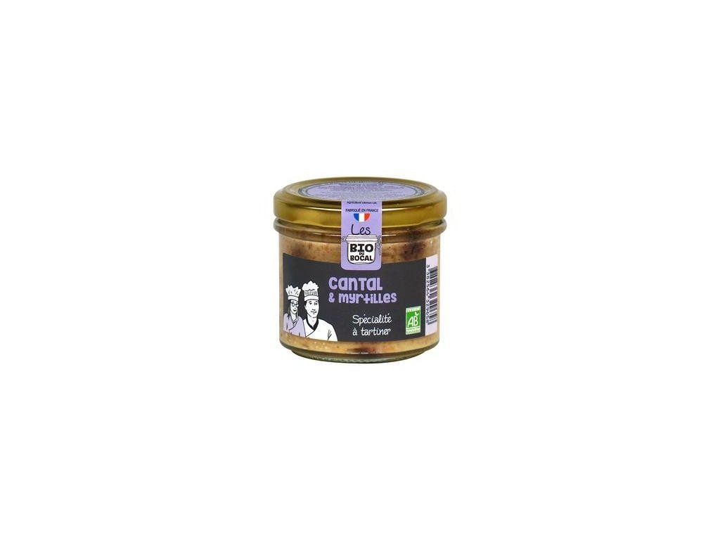 Bio delikatesa se sýrem a borůvkami Cantal
