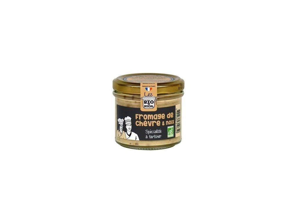 bio delikatesa s kozim syrem a vlasskymi orechy 90g
