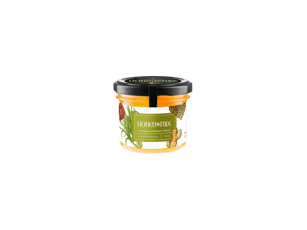 HoneyMix Zázvor a citronová tráva