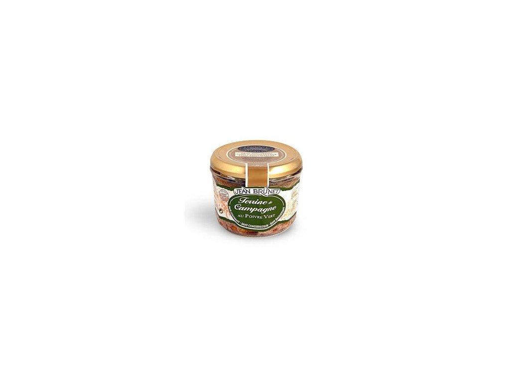 Famářská terina se zeleným pepřem