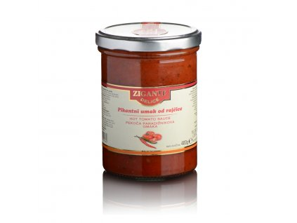 Pikantní rajčatová omáčka Zigante