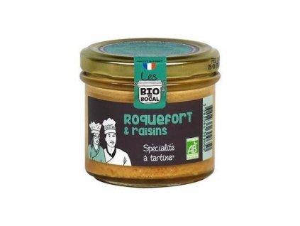 Bio delikatesa se sýrem roquefort a rozinkami Cantal