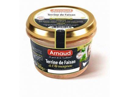 Bažantí terina s armagnacem Arnaud