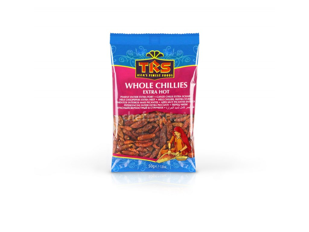 chillies whole extra hot 50g