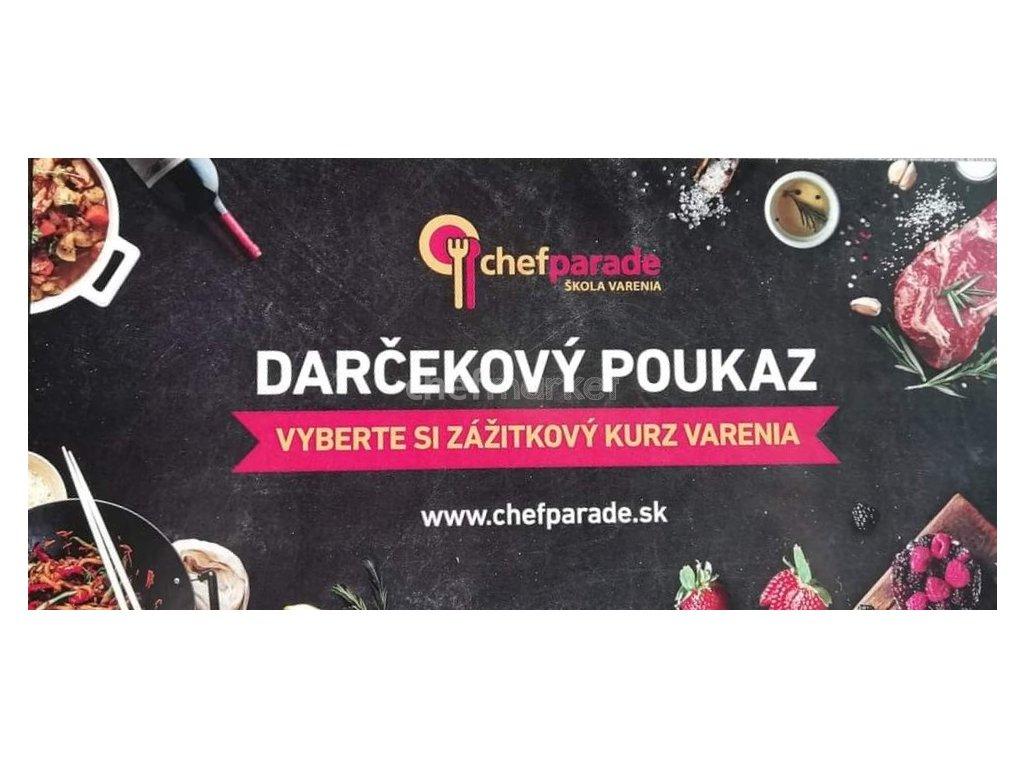 Darčekový poukaz Chefparade