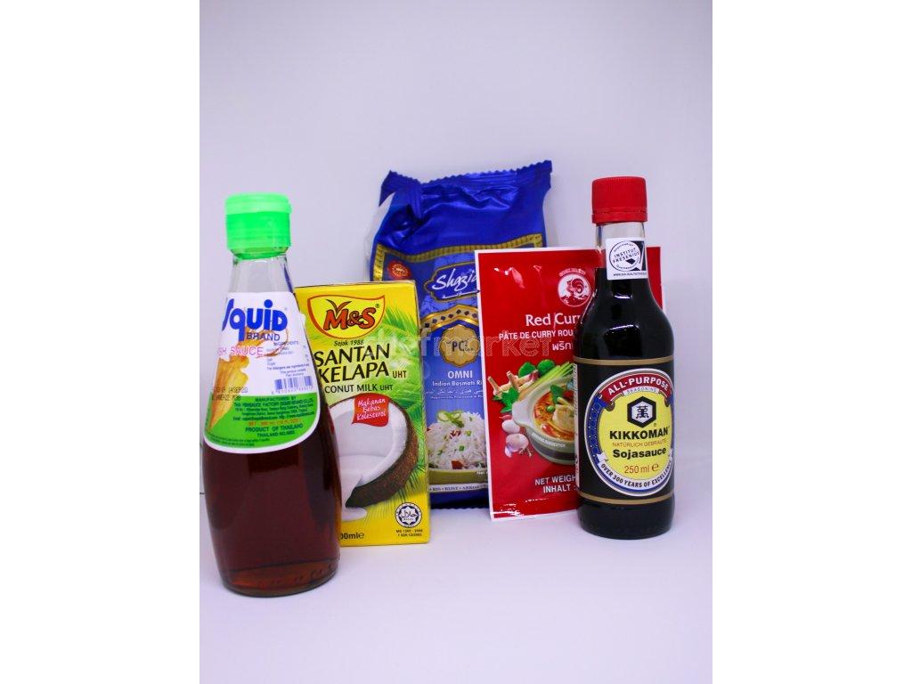 Uvar si Thajské červené curry + recept