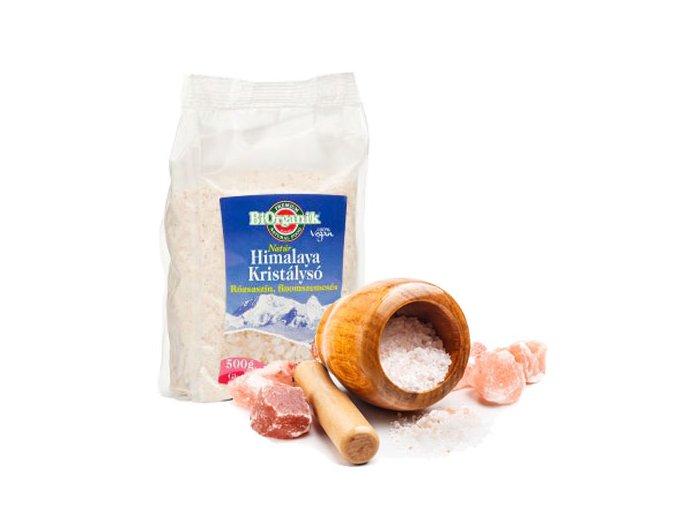 Himalájska soľ ružová jemná 500g