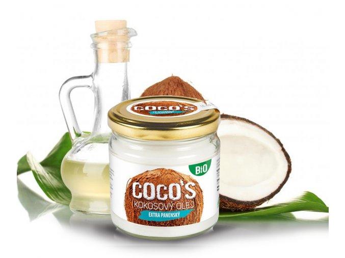 kokosový olej 200ml