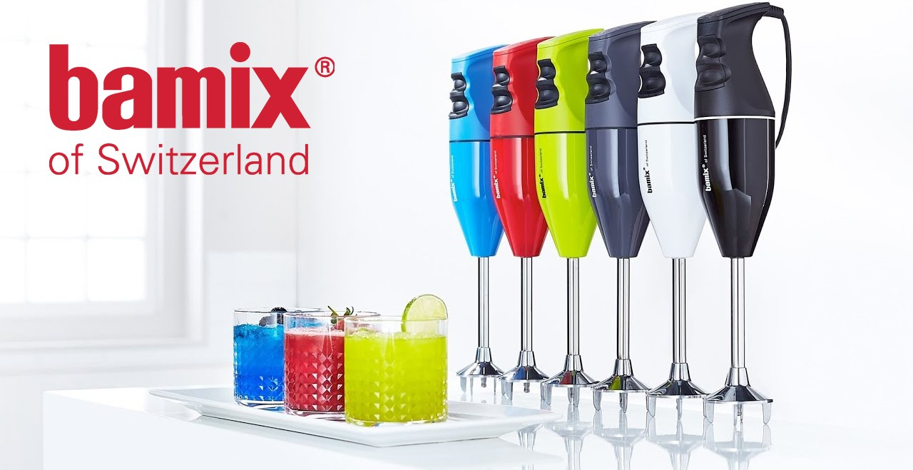 Tyčové mixéry Bamix 2019: Jak vybrat ten správný mixér?