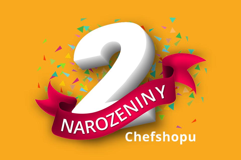 Slavíme 2. narozeniny naší prodejny!