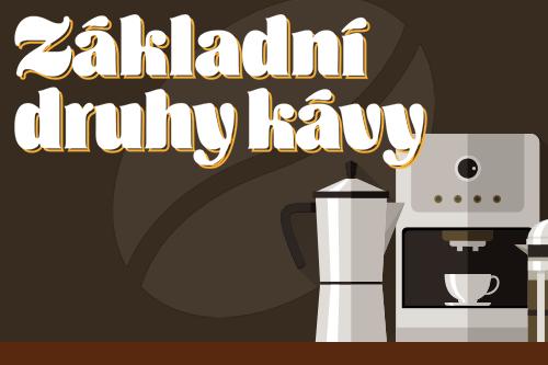Znáte základní druhy kávy?