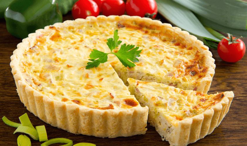 Víte, že původní těsto na quiche bylo z chleba?