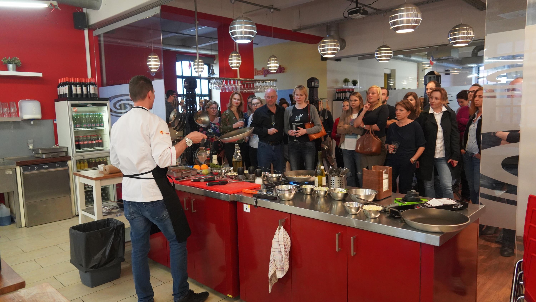 6 francouzských receptů a fotky z eventu de Buyer