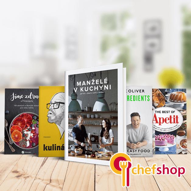 Měsíc knihy a nové kuchařky