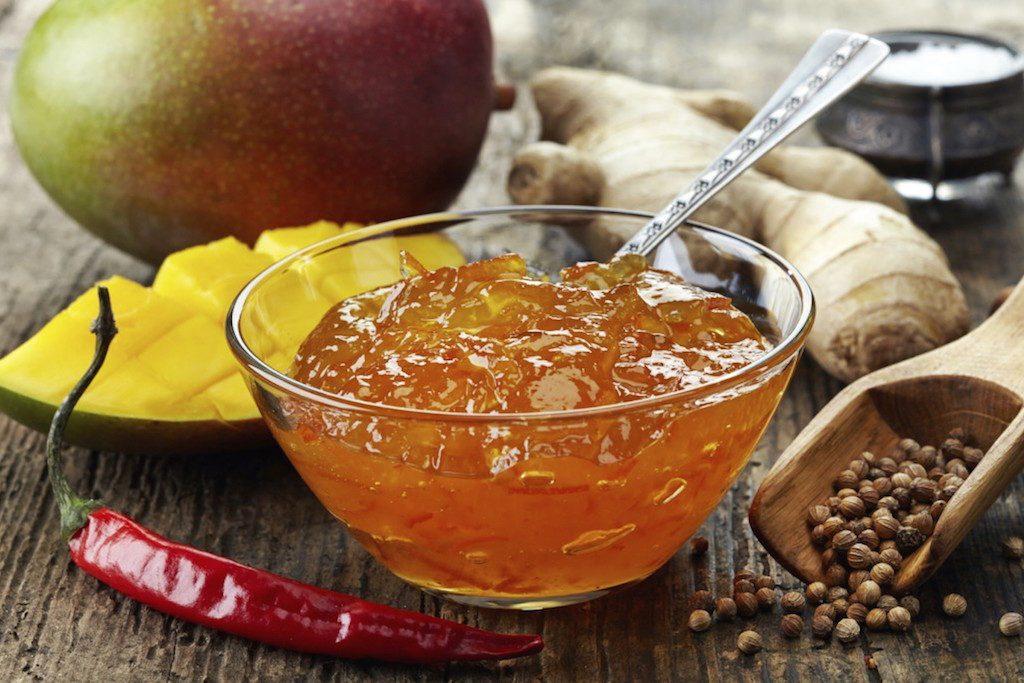 Chutney – mangové s chilli