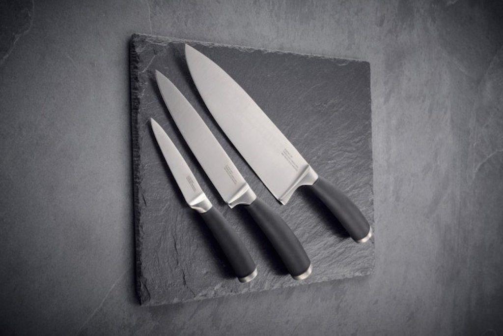 Nože: udělejte ostrý řez