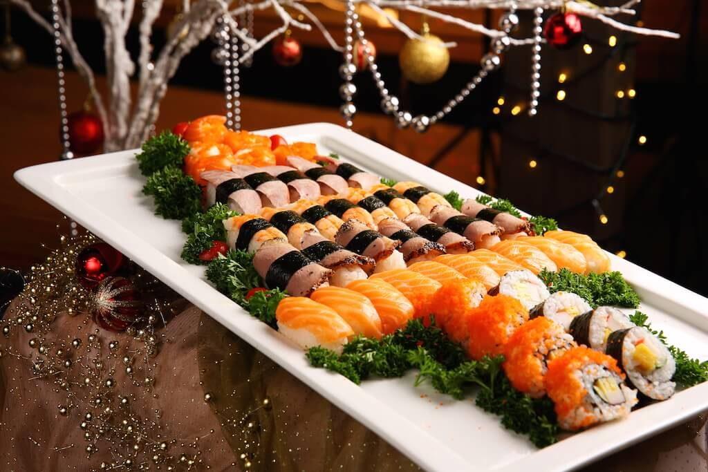 7x silvestrovské sushi, které zvládnete doma